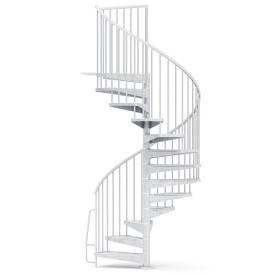 Escalier colimaçon métal...