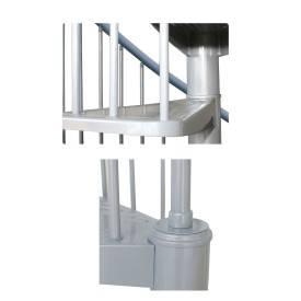 Escalier colimaçon métal