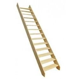 escalier exterieur réglable
