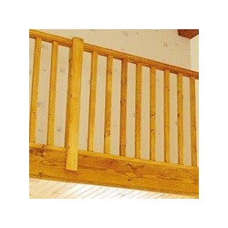 Kit balustrade sapin 2 m +...