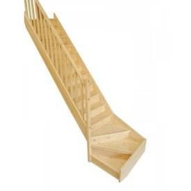 escalier quart tournant pas cher sapin
