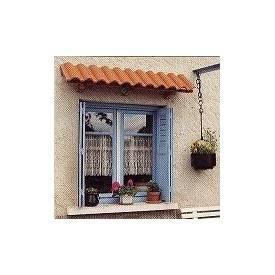 Marquise de fenêtre sapin +...