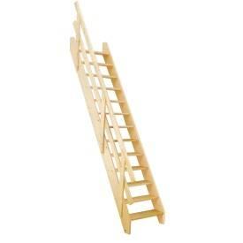 Escaliers droits réglables
