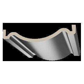 Connecteur alu pour main courante carrée 80*30 mm