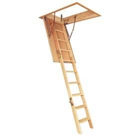 Escalier escamotable standard bois