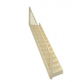 escalier droit pas cher sapin