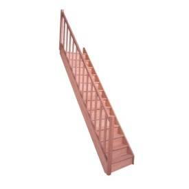 escalier droit pas cher hêtre